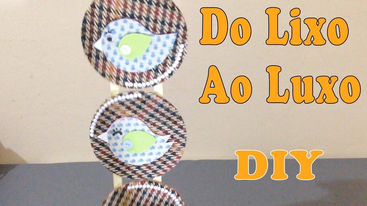 Decoração Com Cd ~ Do Lixo ao Luxo Quadrinhos para Decoraç u00e3o com CD Reciclar DIY Artesanato YouTube