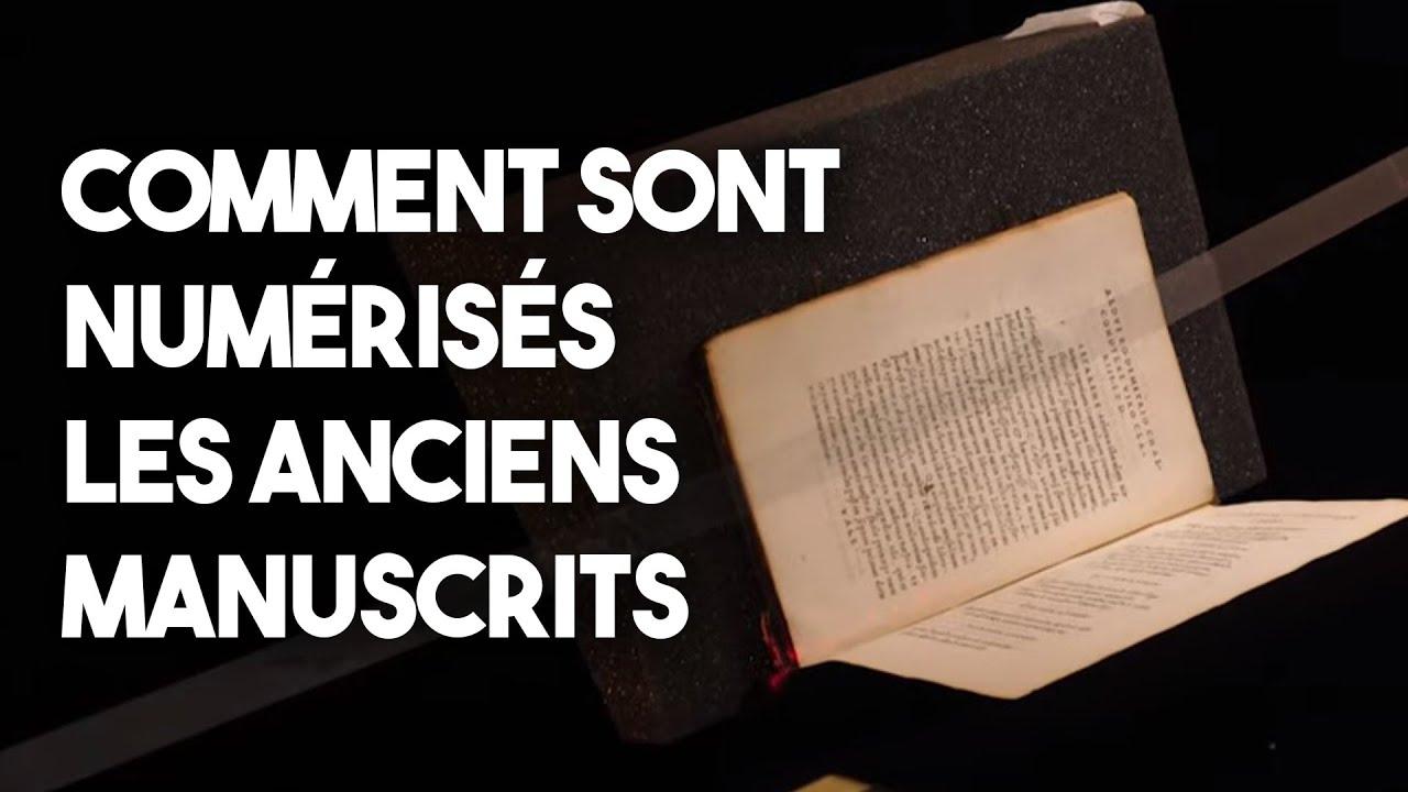 Numériser de vieux manuscrits - Les métiers de l'Histoire