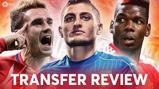 VERRATTI, POGBA, GRIEZMANN! Manchester United Transfer News Review