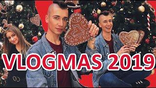 VLOGMAS 2019 ( Warszawa, grzane wino, zapalnie choinki, jarmark)