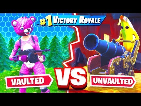 NEW vs VAULTED weapons in Fortnite!