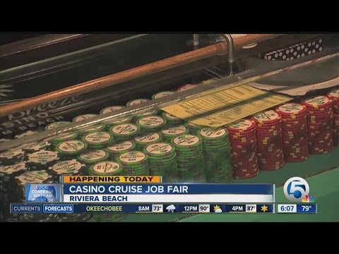 Casino cruise holding job fair at Port of Palm Beach