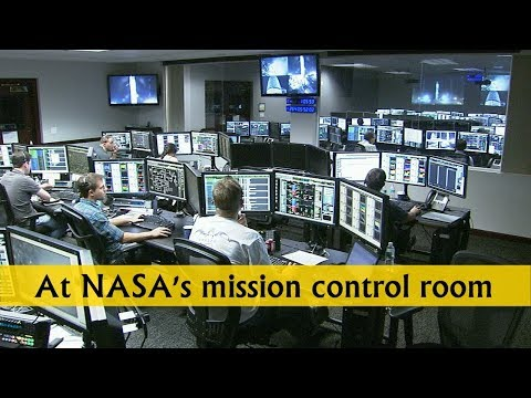 At NASA's mission control room, we have just received LOS of the Cassini Spacecraft