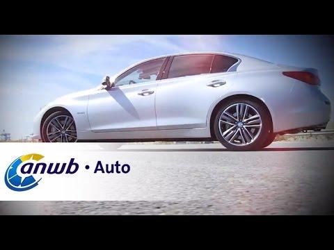 Infiniti Q50 Hybrid Autotest Anwb Auto Youtube