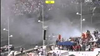 F1 2004 - Monaco Grand Prix - crash Giancarlo Fisichella
