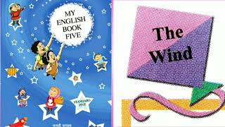The wind | Class 5th | page no .62 | My English book five | The wind std 5th |