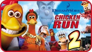 Chicken Run Walkthrough Part 2 (PS1, PC, Dreamcast) Act 2 - 1 Gameplay
