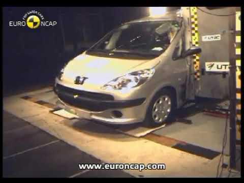 Peugeot 1007 2005 E NCAP