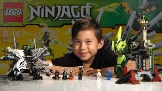 EPIC DRAGON BATTLE - Lego Ninjago Set 9450 - Unboxing, Review & Time-lapse build