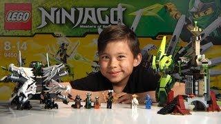 EPIC DRAGON BATTLE - Lego Ninjago Set 9450 - Unboxing, Review & Time-lapse build