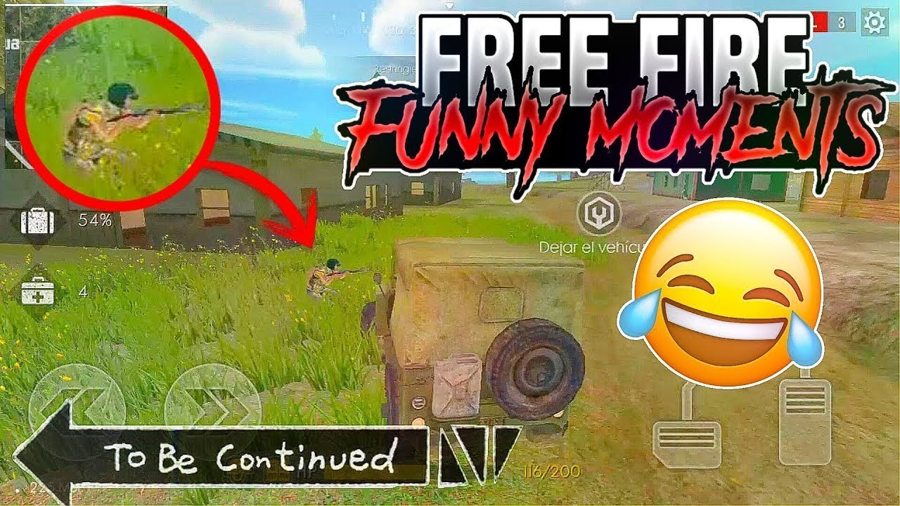 Free Fire Funny Momentshackers Gameplay