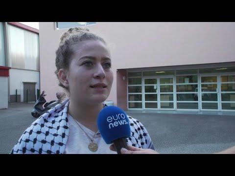 Ativista palestiniana Ahed Tamimi está na Europa
