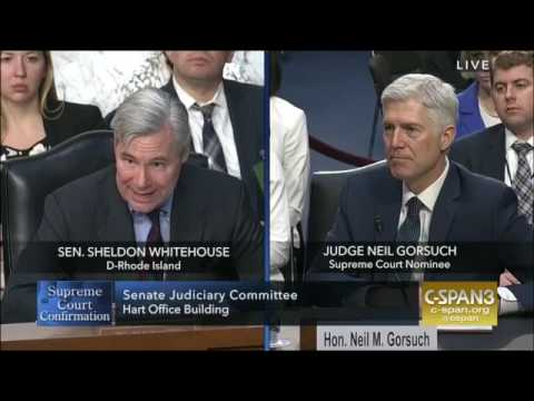 Sheldon Whitehouse round 3 at Gorsuch confirmation hearing