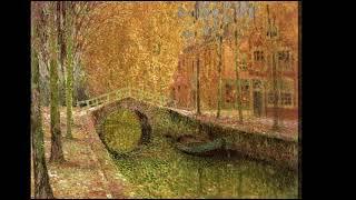 Henri Le Sidaner (1862-1939) - A French Post-impressionist & intimist painter