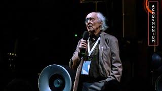 Francis Dhomont, artist-talk @ ACOUSMONIUM festival, St.Petersburg.
