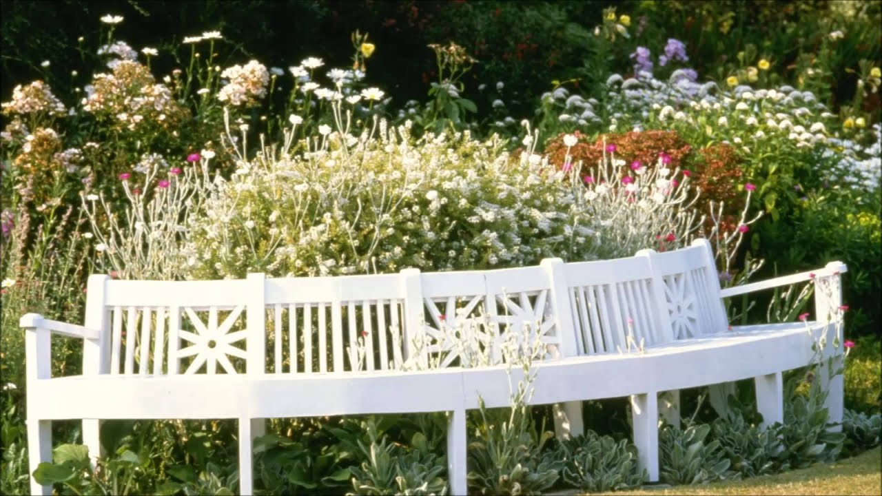 english country garden slideshow with relaxing classical. Black Bedroom Furniture Sets. Home Design Ideas