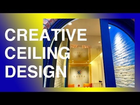 Creative ceiling design! Perfect interior decoration! Must see for EVERYONE! NEW TECHNOLOGY!