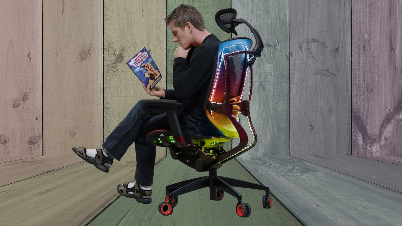 The Rgb Chair No One Asked For Youtube