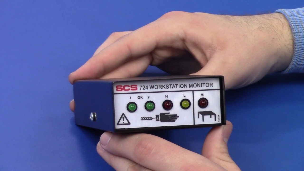 SCS 770065 Verification Tester for 724 and 725 Monitors