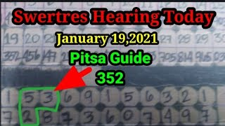 Swertres Hearing Today, Januar…