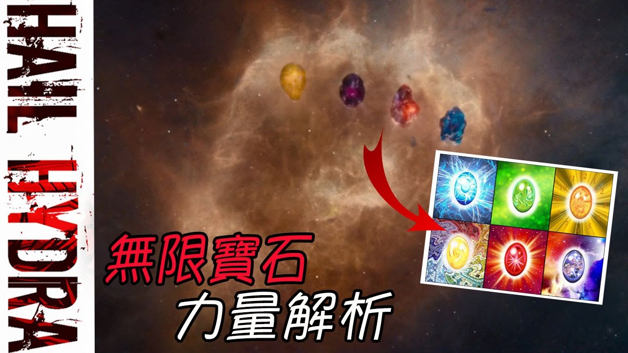 MARVEL電影宇宙無限寶石力量解析|A.M.Y CHANNEL - YouTube
