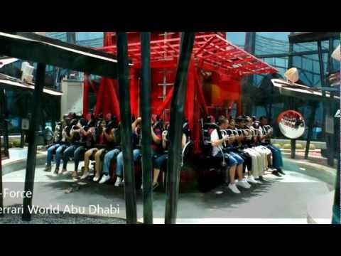 G-Force @ Ferrari World Abu Dhabi