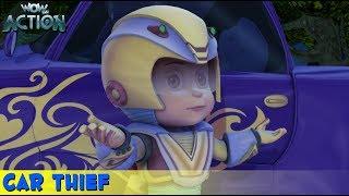 Vir The Robot Boy | Hindi Cartoon For Kids | Car Thief | Animated Series| WowKidz Action