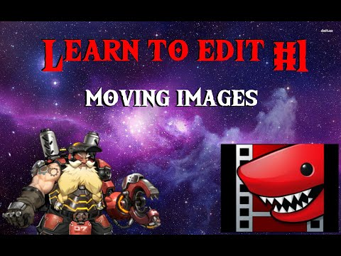 LightWorks Pro Tutorial 1 (Moving Images In Funny Ways)