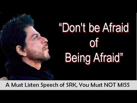 One of BEST SRK's Speech on success, most inspiring & Motivational video for all.