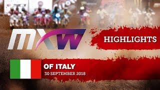 WMX Highlights Race 1- MXGP of Italy 2018 #motocross