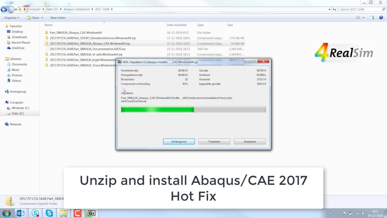 SIMULIA Abaqus Hot fix download and installation