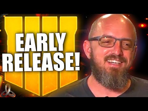 BLACK OPS 4 IS RELEASING EARLY! Play Early, Full Details, Huge Leaks, & Much More!