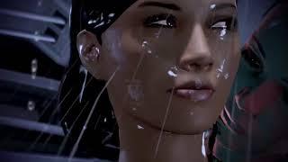 Mass Effect 3: Specialist Traynor Lesbian sex scene