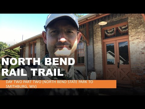 NORTH BEND TRAIL - Solo Thru Hiking - Episode 2 - Part Two (North Bend State Park To Smithburg, WV)