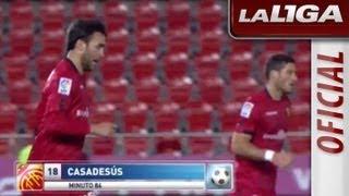 La Liga | Todos los goles del partido RCD Mallorca-Real Zaragoza (1-1) | 02-12-2012 | J14