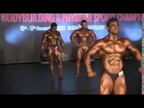 bodybuilding-india's-rajendran-mani-has-won-the-men's-90kg-word-bodybuilding-championship---most