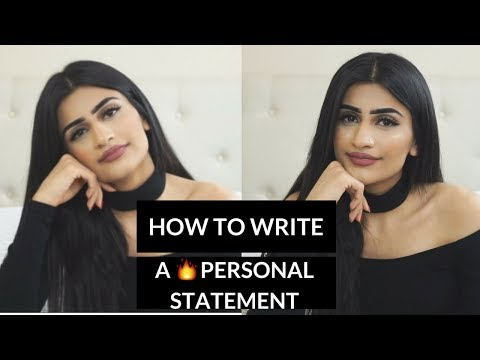 Видео Writing a good personal statement for college