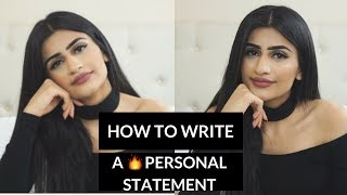 How to Write a Personal Statement for a Top University thumbnail