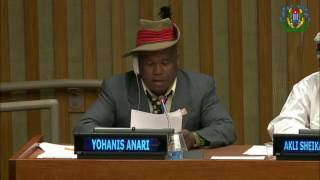 Intervention in United Nation by John Anari