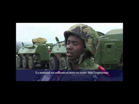 L'armée burundaise en Somalie (AMISOM) 2012