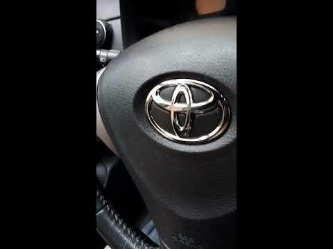 Снятие подушки безопасности и руля Toyota Corolla E140/150
