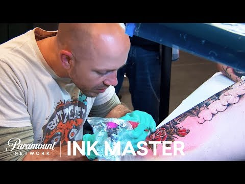 Elimination Tattoo Preview: American Traditional Production Style - Ink Master, Season 7