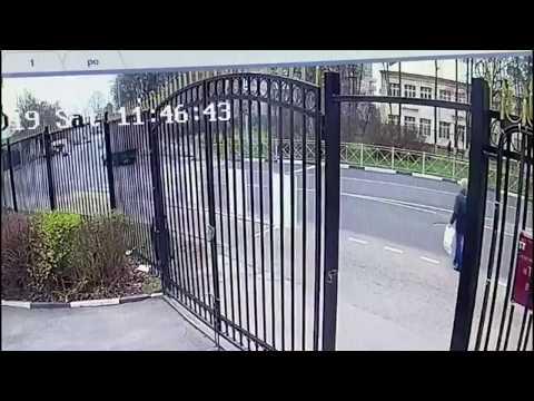 Камера запечатлела момент убийства пешехода водителем на дороге в Мытищах