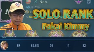 Solo Rank 1300 Point Di Server Indo. | Mobile Legends