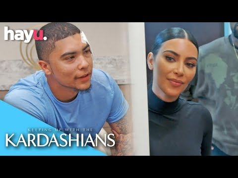 Kim Helps Former Inmate To Remove His Face Tattoos   Season 17   Keeping Up With The Kardashians