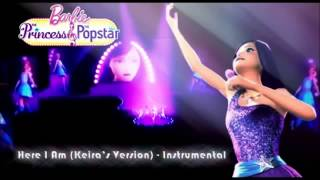 Barbie the princess and the popstar-Here i am Instrumental 3