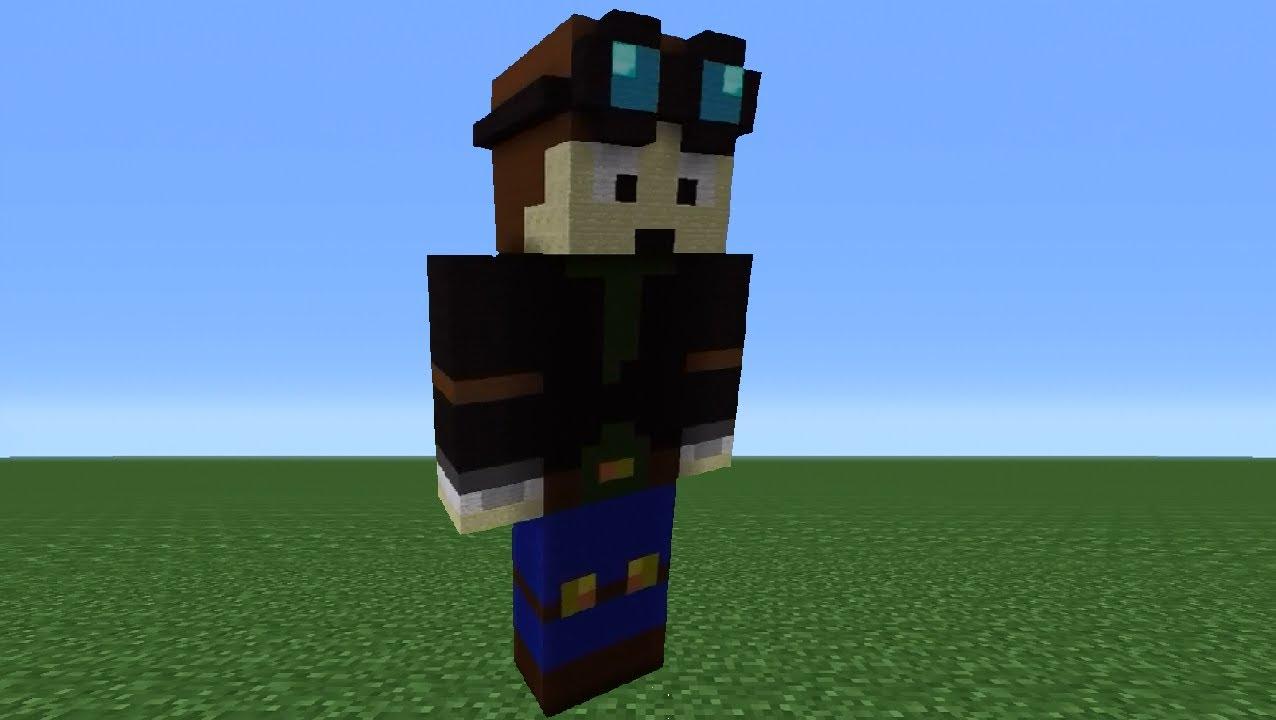 Minecraft 360 How To Make A Thediamondminecart Statue