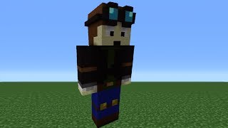 Minecraft 360: How To Make A TheDiamondMinecart Statue