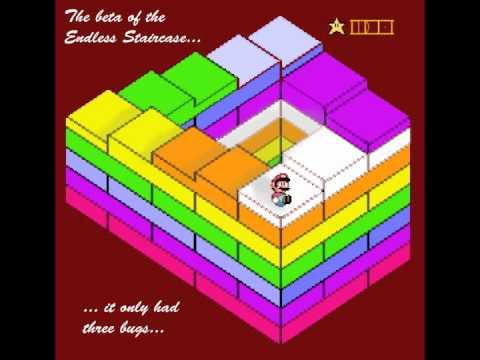Super Mario 64 Endless Staircase Remix Youtube