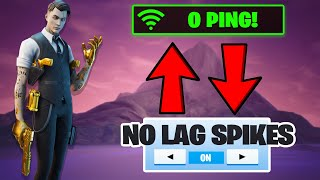 How To FIX LAG/0 PING In Fortnite Season 2! (Lag Spikes, Higher FPS, etc.)